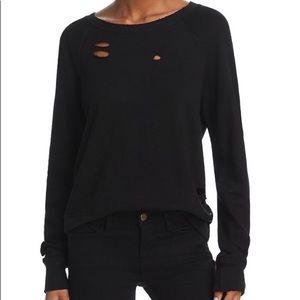 n:philanthropy belize Black sweatshirt NWT Sz S